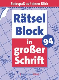Eberhard  Krüger - Rätselblock in großer Schrift 94 (5 Exemplare à 2,99 €)