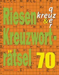 Eberhard  Krüger - Riesen-Kreuzworträtsel 70 (5 Exemplare à 2,99 €)
