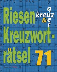 Eberhard  Krüger - Riesen-Kreuzworträtsel 71 (5 Exemplare à 2,99 €)