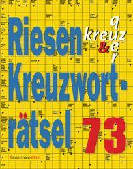 Eberhard  Krüger - Riesen-Kreuzworträtsel 73 (5 Exemplare à 2,99 €)
