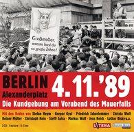 Jan Josef  Liefers, Dr. Gregor  Gysi, Markus  Wolf, Jens  Reich, Stefan  Heym, Christa  Wolf - Berlin Alexanderplatz 4.11.´89