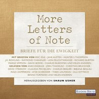 Shaun  Usher - More Letters of Note