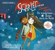 Cerrie  Burnell - Scarlet und der Zauberschirm — Die wundersame Reise durch die Nacht