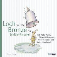Dieter  Hildebrandt - Loch in Erde, Bronze rin