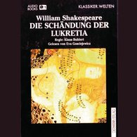 William  Shakespeare - Die Schändung der Lukretia
