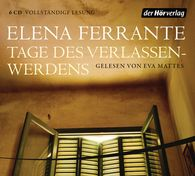 Elena  Ferrante - Tage des Verlassenwerdens