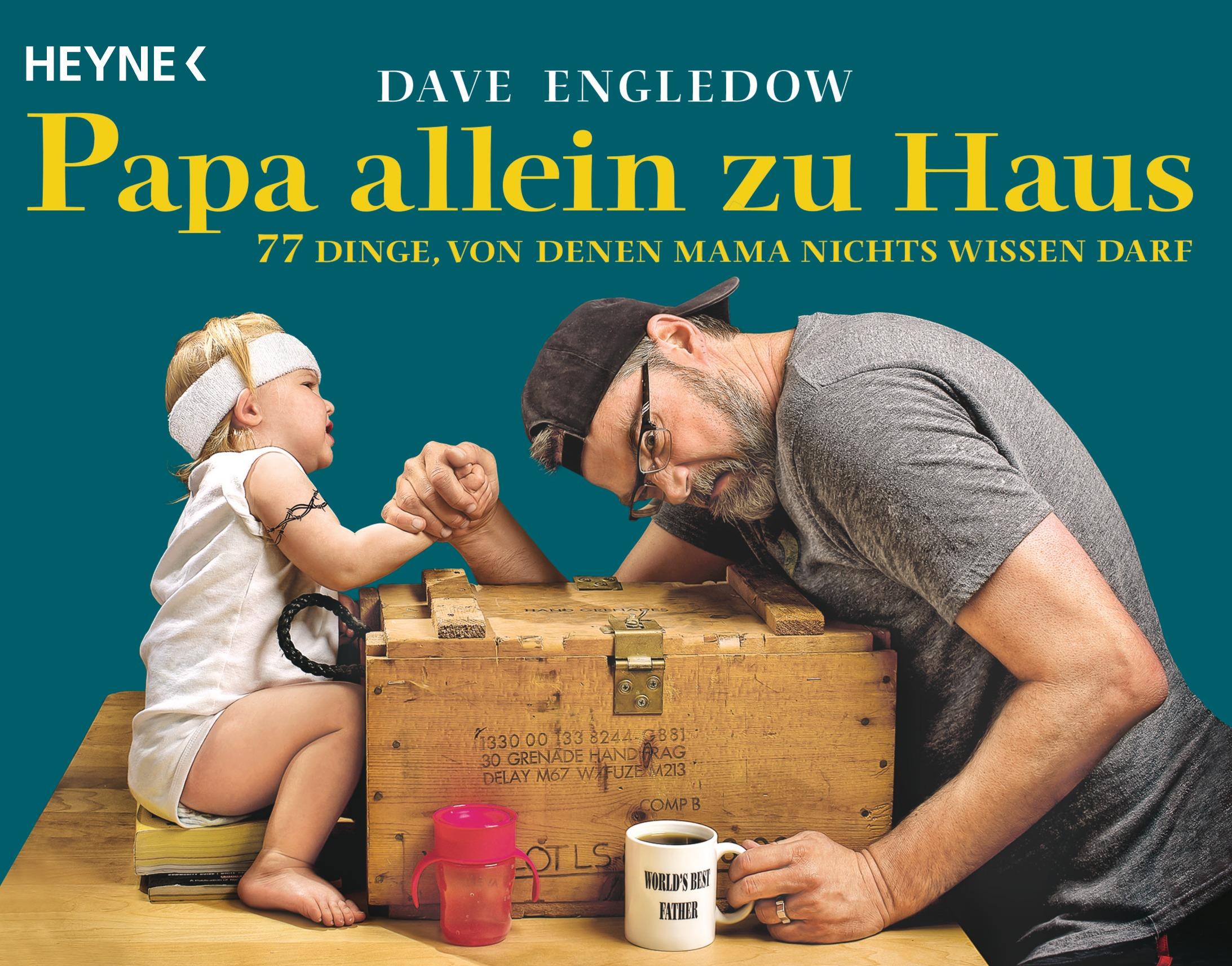 Dave Engledow - Papa allein zu Haus - Cover - Presse-Buchinfo